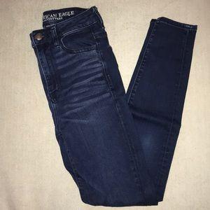 American Eagle Jeans Super Stretch X Highest Rise